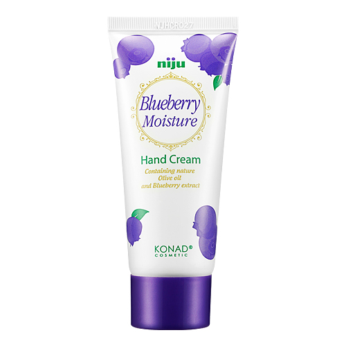 niju moisture hand cream blueberry